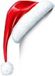 christmas hat logo